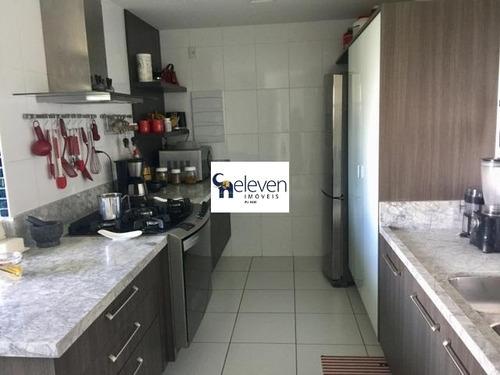 apartamento a venda em patamares, salvador com 3 suite, 2 salas, varanda, lavabo, área de serviço, cozinha, banheiros, 3 vagas, 194 m². - ap01393 - 32777294