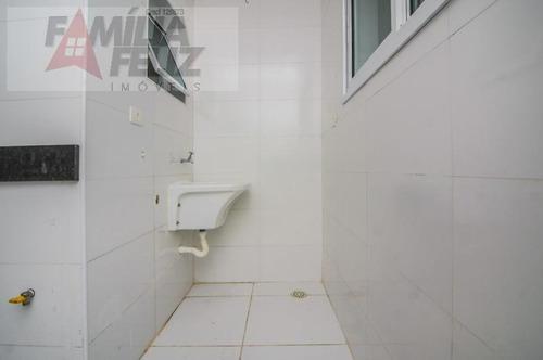 apartamento a venda em praia grande, caiçara, 2 dormitórios, 1 suíte, 2 banheiros, 1 vaga - ap1311