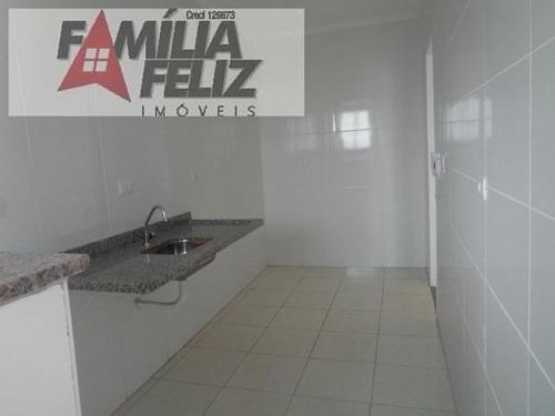 apartamento a venda em praia grande, campo da aviação, 2 dormitórios, 1 suíte, 2 banheiros, 1 vaga - ap2856