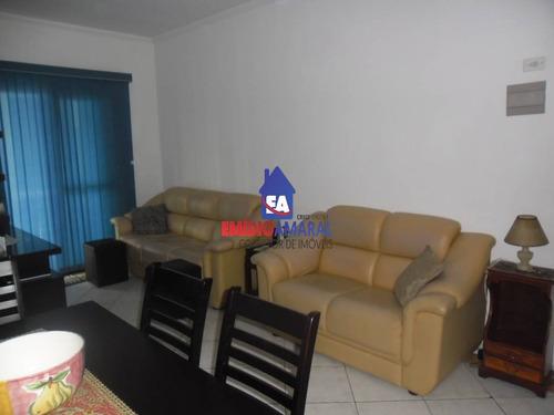 apartamento a venda em praia grande, na cid. ocian - ea71