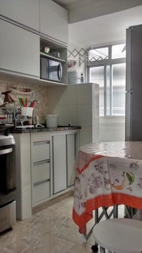apartamento a venda em santos, aparecida, 1 dormitório, 1 banheiro - a01/151