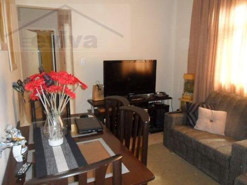 apartamento a venda em santos, aparecida, 2 dormitórios, 1 banheiro, 1 vaga - a02/120