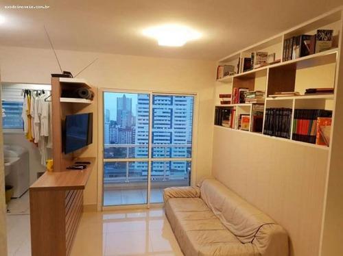 apartamento a venda em santos, boqueirão, 1 dormitório, 1 suíte, 2 banheiros, 1 vaga - ap169