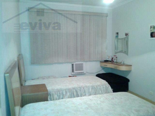 apartamento a venda em santos, boqueirão, 2 dormitórios, 1 banheiro, 1 vaga - a02/119