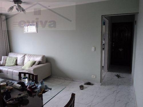 apartamento a venda em santos, encruzilhada, 2 dormitórios, 1 banheiro, 1 vaga - a03/112