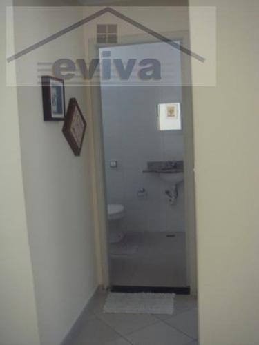 apartamento a venda em santos, pompeia, 2 dormitórios, 1 banheiro, 1 vaga - a02/92