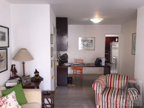 apartamento a venda em são paulo, higienópolis, 2 dormitórios, 2 banheiros, 1 vaga - 642