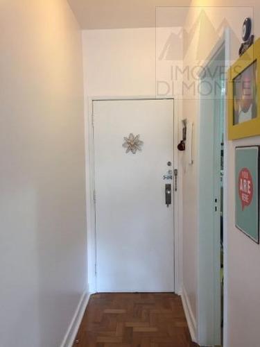 apartamento a venda em são paulo, higienópolis, 2 dormitórios, 2 banheiros - 376
