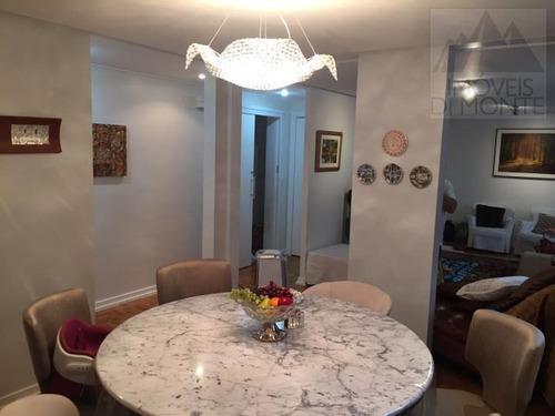 apartamento a venda em são paulo, higienópolis, 3 dormitórios, 1 suíte, 3 banheiros, 2 vagas - 395