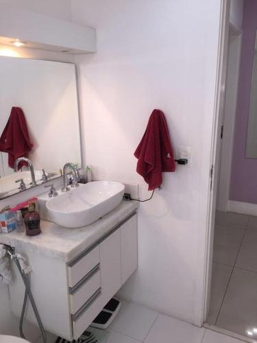apartamento a venda em são paulo, moema, 3 dormitórios, 1 suíte, 2 banheiros, 2 vagas - 615b