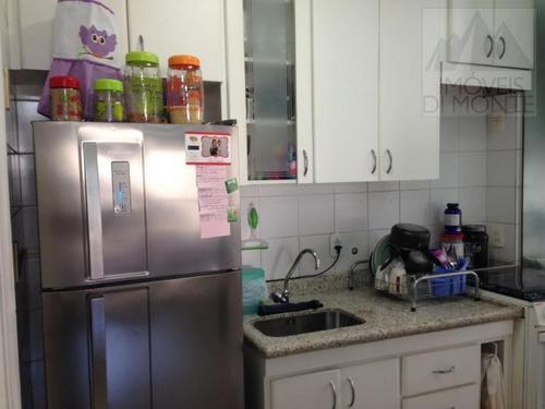 apartamento a venda em são paulo, santa cecília, 2 dormitórios, 1 banheiro, 1 vaga - 382