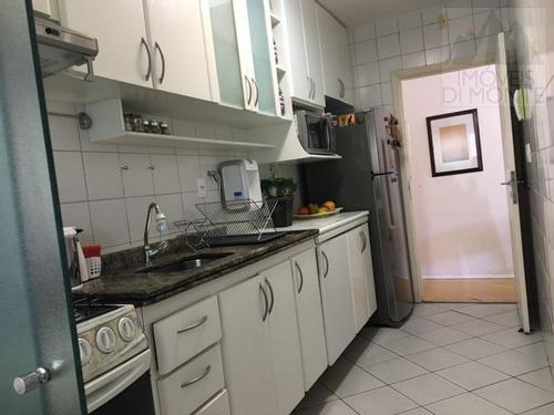 apartamento a venda em são paulo, santa cecília, 2 dormitórios, 1 suíte, 2 banheiros, 1 vaga - 454