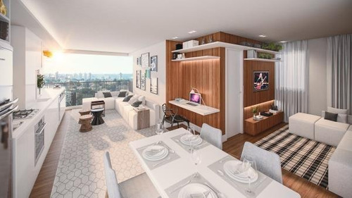 apartamento a venda em são paulo, saúde, 2 dormitórios, 1 banheiro, 1 vaga - avant saúde