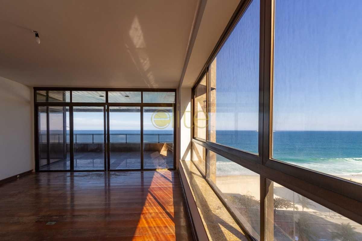 apartamento a venda frontal mar são conrado - ebap50012