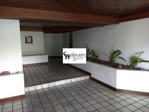 apartamento a venda na graça salvador com 3 quartos sendo  duas suites, sala, varanda, cozinha, área de serviço, banheiros, 3 vagas, 200 m² - ap01188 - 32673664