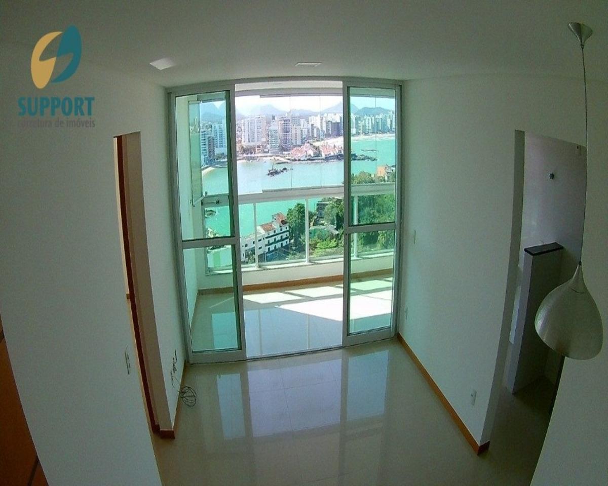 apartamento a venda na praia das castanheiras no centro de guarapari - support corretora de imóveis - 1982 - 34418910