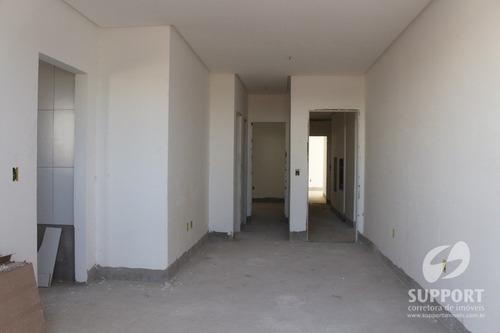 apartamento a venda na praia do morro 02 quartos - v-1190