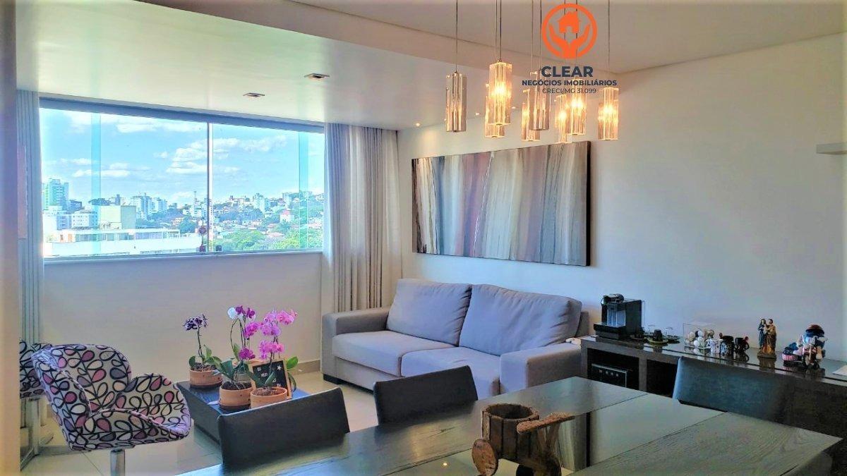 apartamento a venda no bairro castelo em belo horizonte - - 22090-1