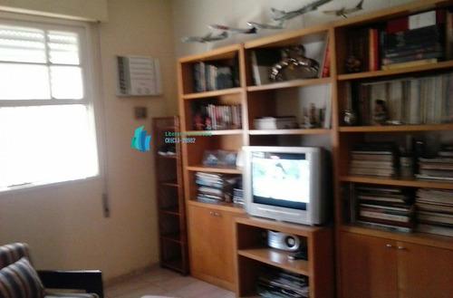 apartamento a venda no bairro embaré em santos - sp.  - 418-1