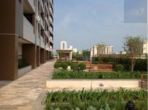 apartamento a venda no bairro encruzilhada em santos - sp.  - 335-7156
