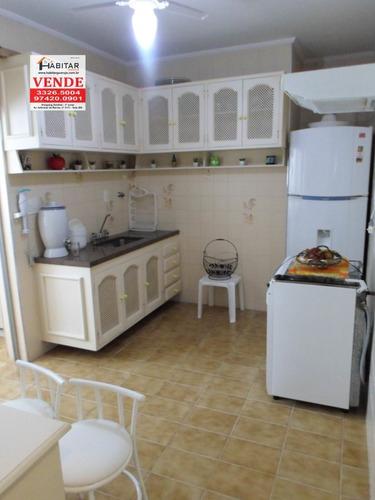 apartamento a venda no bairro enseada em guarujá - sp.  - 1621-1