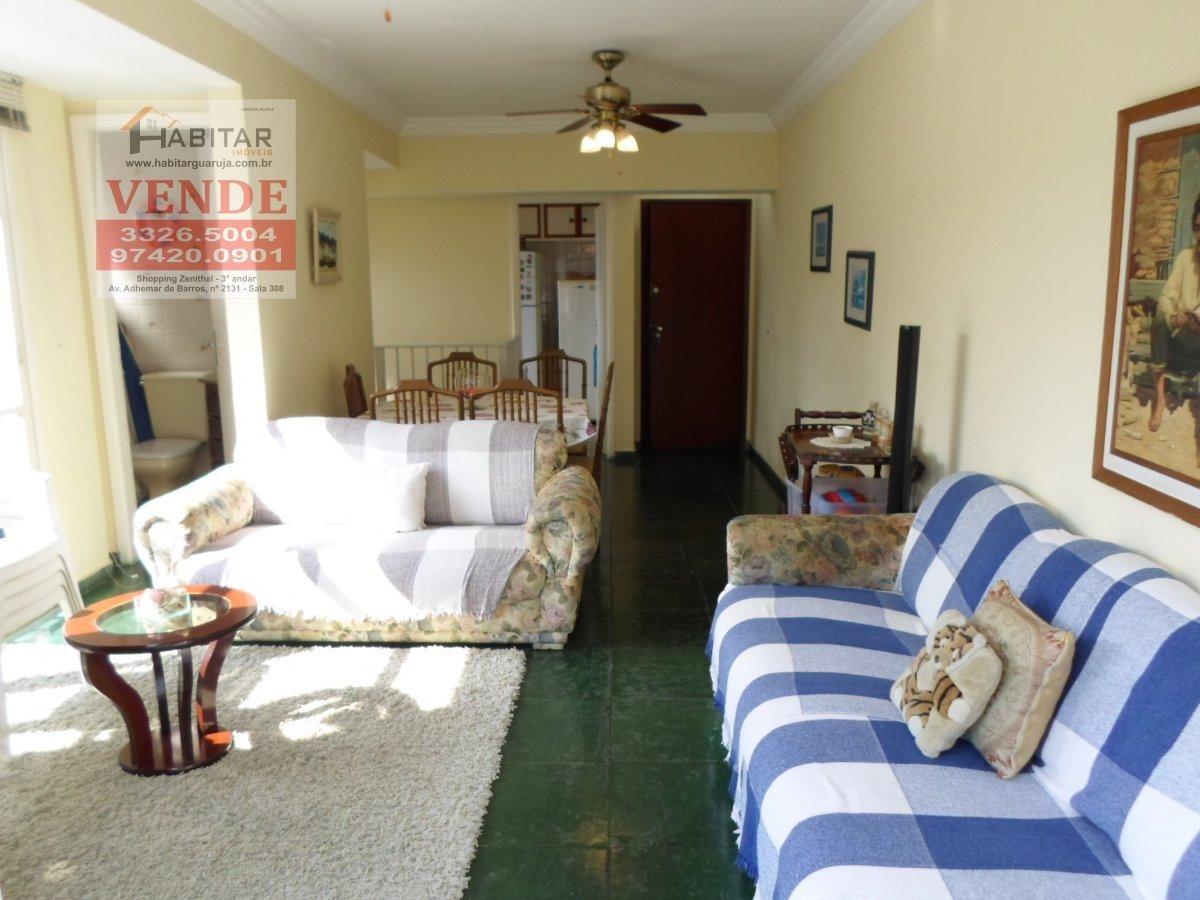 apartamento a venda no bairro enseada em guarujá - sp.  - 1797-1
