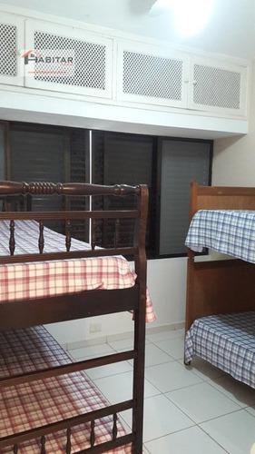 apartamento a venda no bairro enseada em guarujá - sp.  - 384-1