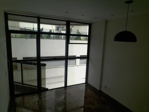 apartamento a venda no bairro gonzaga em santos - sp.  - 407-7156