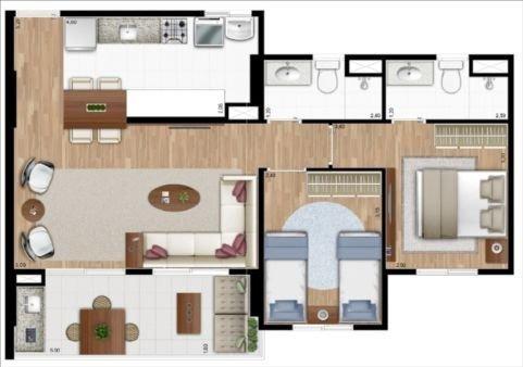 apartamento a venda no bairro jardim aurélia em campinas - - ap10311-1