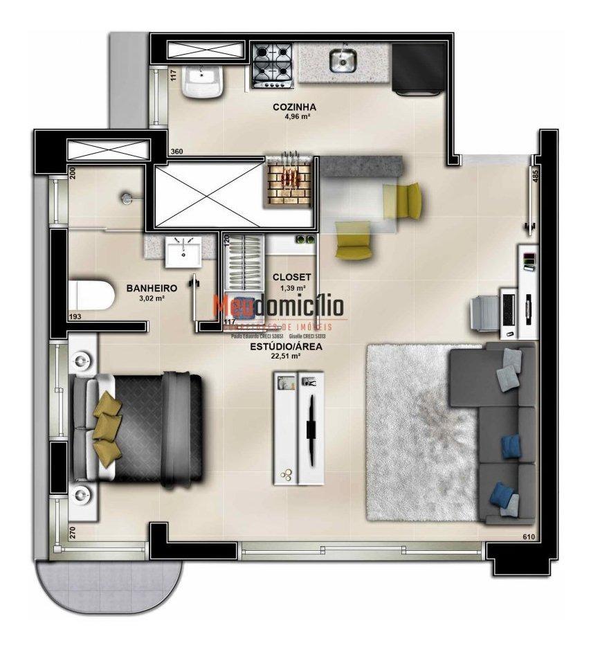 apartamento a venda no bairro jardim botânico em porto - 15204md-1