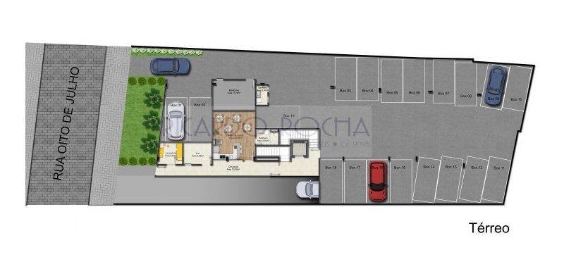 apartamento a venda no bairro jardim botânico em porto - 245-1