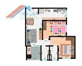 apartamento a venda no bairro jardim europa em sorocaba - - ap 077-1