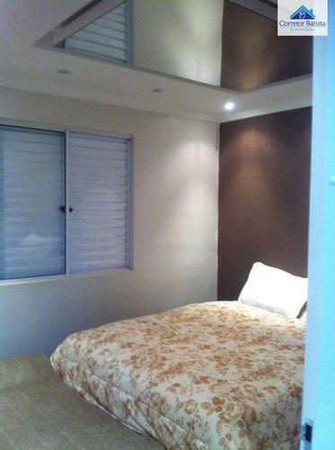 apartamento a venda no bairro jardim ipaussurama em campinas - 0887-1