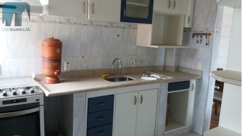 apartamento a venda no bairro jardim santa maria em guarujá - 614-1