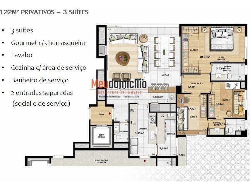 apartamento a venda no bairro petrópolis em porto alegre - - 15328md-1