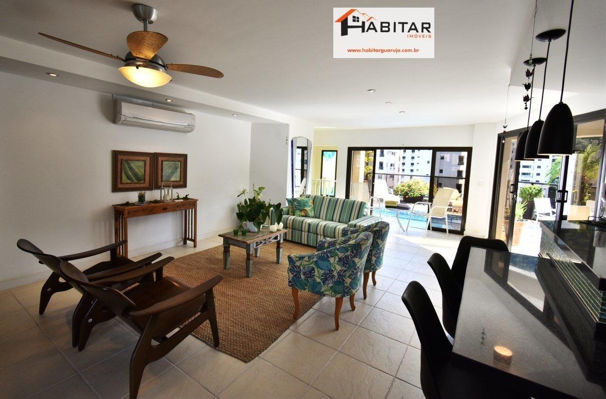 apartamento a venda no bairro pitangueiras em guarujá - sp.  - 1486-1