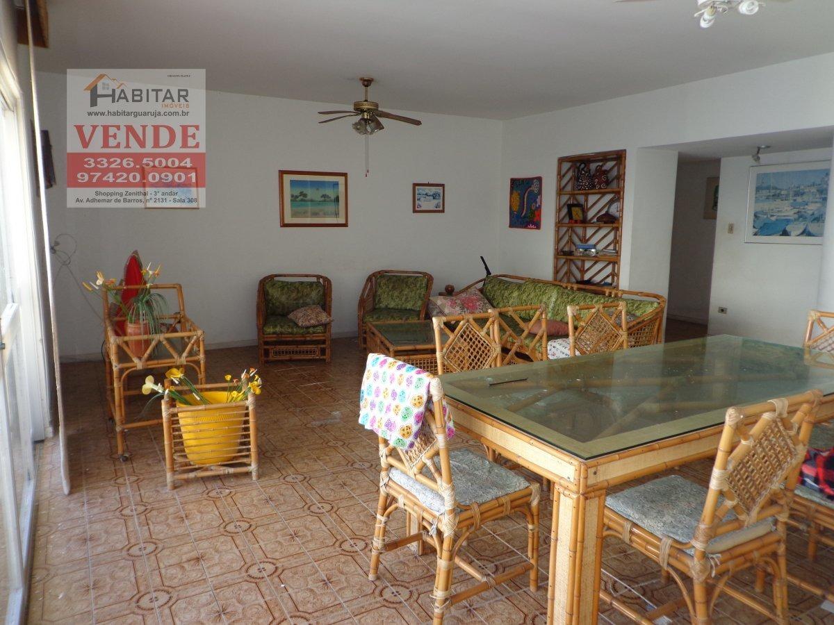 apartamento a venda no bairro pitangueiras em guarujá - sp.  - 1838-1
