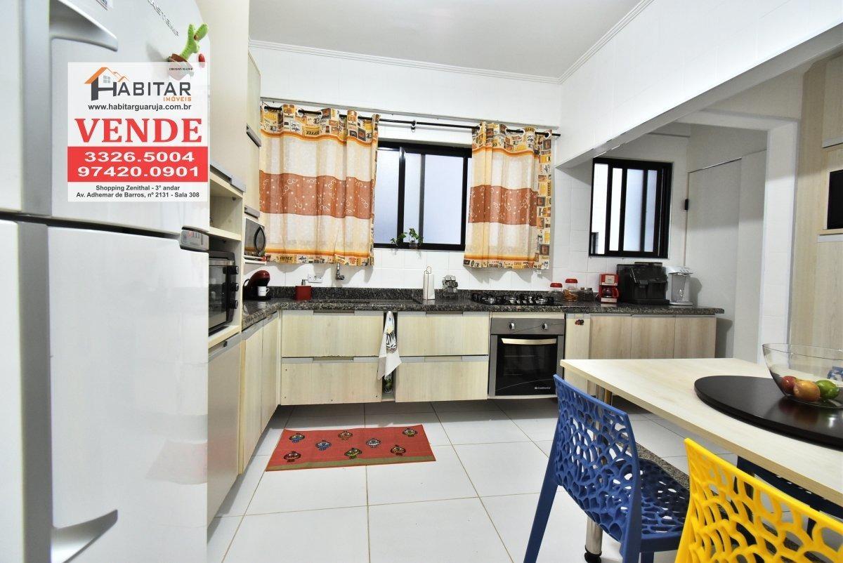 apartamento a venda no bairro pitangueiras em guarujá - sp.  - 1892-1