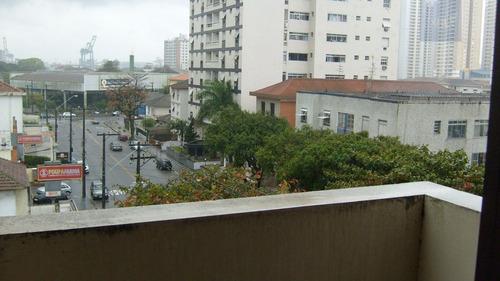 apartamento a venda no bairro ponta da praia em santos - sp. - 273-7156