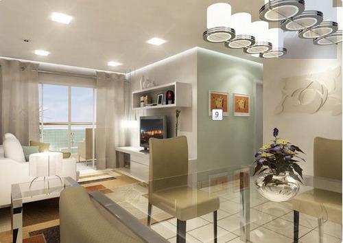 apartamento a venda no bairro ponta da praia em santos - sp. - 339-7156