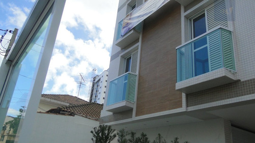apartamento a venda no bairro ponta da praia em santos - sp. - 356-7156