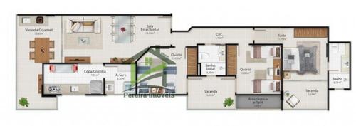 apartamento a venda no bairro praia do morro em guarapari - - 284-15539
