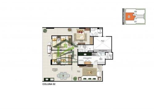 apartamento a venda no bairro praia do morro em guarapari - - 339-15539