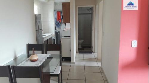 apartamento a venda no bairro residencial cosmos em campinas - 0745-1