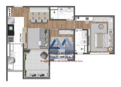 apartamento a venda no bairro santo amaro em são paulo - - 3205-kz-1