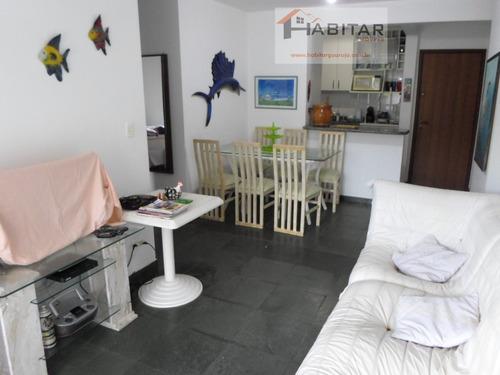 apartamento a venda no bairro tombo em guarujá - sp.  - 1338-1