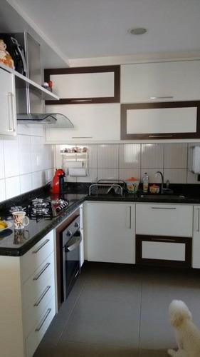 apartamento a venda no bairro vila belmiro em santos - sp.  - 394-7156