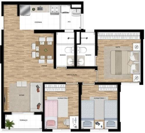 apartamento a venda no bairro vila prudente em são paulo - - 900-1