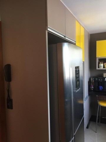 apartamento a venda no edifício albatroz com 145m², 3 dormitórios (1 suíte), sala 3 ambientes, quarto e banheiro de empregada, 2 vagas. lazer completo - ap01407 - 33258875