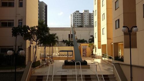 apartamento a venda no morumbi, com 2 dorms - eduardo 78686